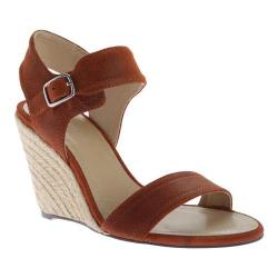 Women's Charles by Charles David Emit Sandal Rust Waxy Suede