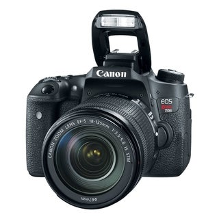 Canon EOS Rebel T6s 24.2 Megapixel Digital SLR Camera with Lens - 18