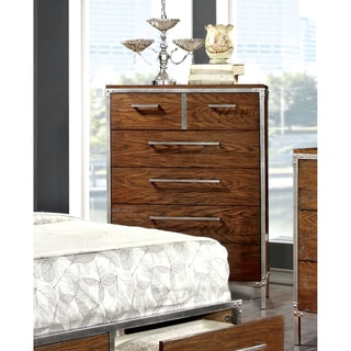 Furniture of America Anye Industrial Style 6-Drawer Chest