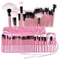 Zodaca 32-piece Professional Beauty Makeup Brushes Tool Set with Pouch Bag (Pack of 32)