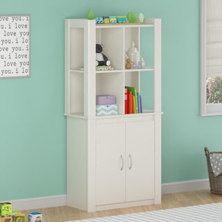 Altra Riley Tall Storage Cabinet with Doors by Cosco