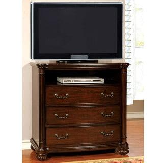 Furniture of America Miralle Dark Cherry Media Chest