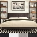 Jensen Upholstered Low Profile Tufted Queen Bed