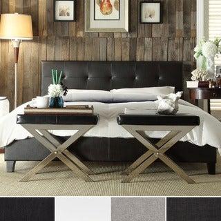 Jensen Upholstered Low Profile Tufted Full Bed