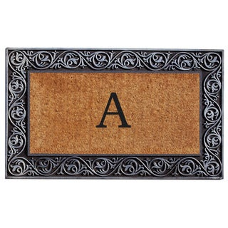 Prestige Silver Monogram Doormat