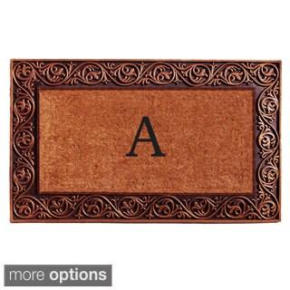 Prestige Bronze Monogram Doormat