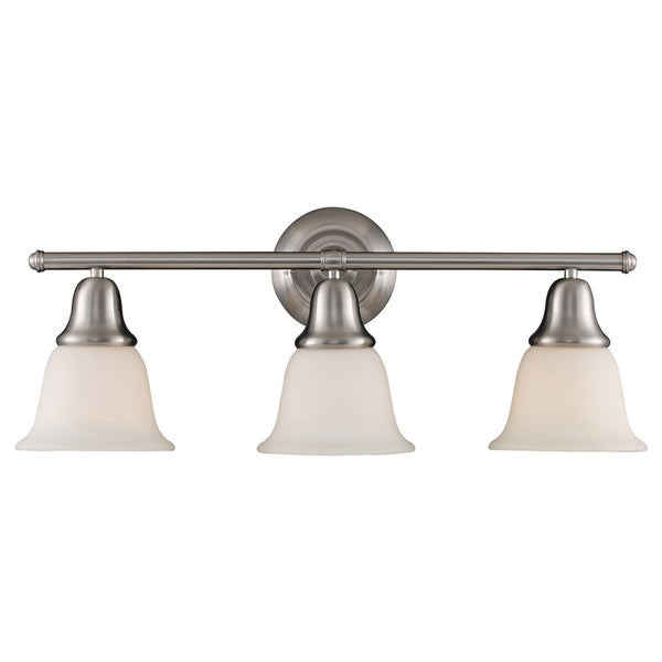 Berwick Brushed Nickel 3-light Vanity