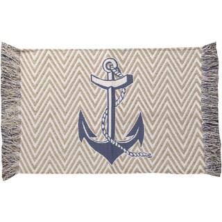 Nautical Blue Rug (4' X 6')