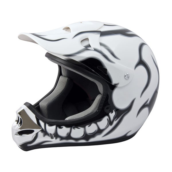 Adult Raider MX 3 Skull Helmet