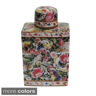 Decorative Porcelain Flask