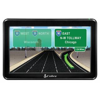 Cobra 7600 PRO 7-inch Navigation GPS for Professional Truck Drivers with Lifetime Maps