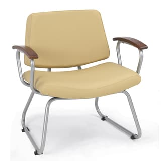 Orleans Vista Sandstone 700-pound Weight Capacity Guest Chair