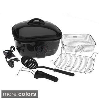 Cooks Essentials 2.5qt. 8-in-1 Nonstick Deep Fryer and Slow Cooker
