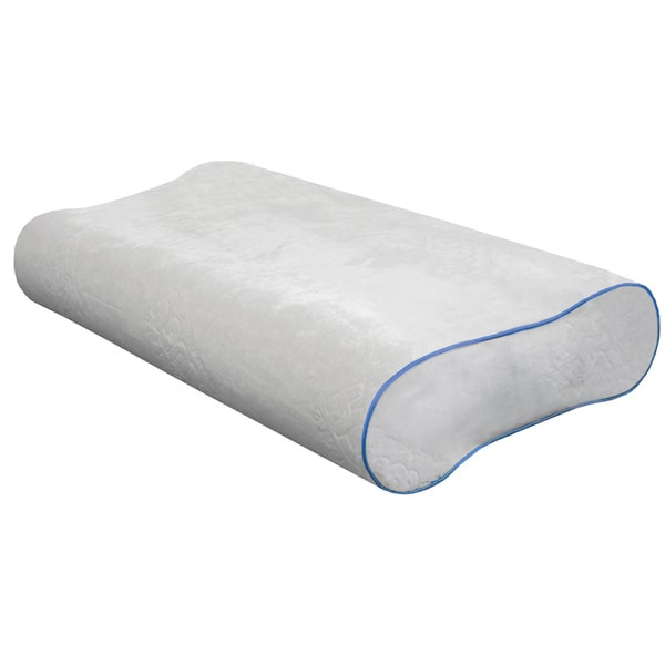 PureCare One Gel Memory Foam Contour Pillow (As Is Item)