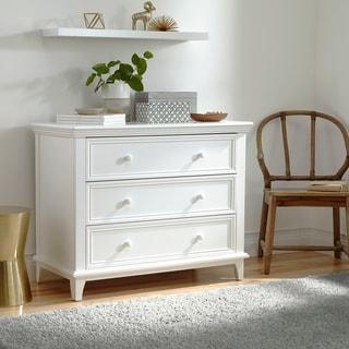 Kolcraft 3-drawer White Transitional Dresser