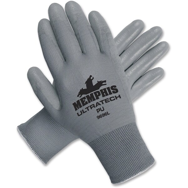 MCR Safety Nylon Shell Poly Work Large Size Gloves