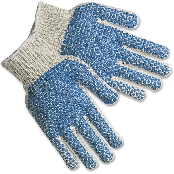 MCR Safety PVC Dots Cotton/ Polyester Gloves
