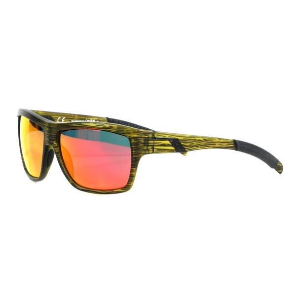 Smith Men's Seaweed Mastermind Sunglasses with Red Sol-X Lenses