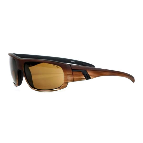 Smith Men's Brown Ash Terrace Sunglasses with Brown Lenses