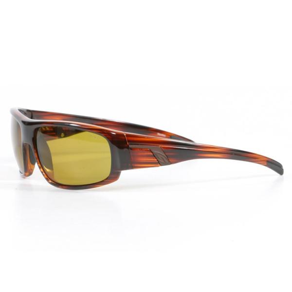 Smith Men's Mahogany Terrace Sunglasses with Polarized Yellow Lenses
