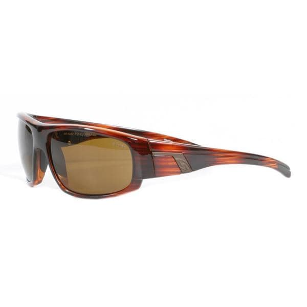 Smith Men's Mahogany Terrace Sunglasses with Polarized Brown Lenses