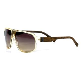 Smith Men's Tan Crystal Wood Gibson Sunglasses with Brown Gradient Lenses