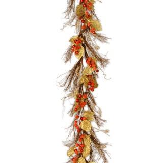 6-foot Berry / Leaf Vine Garland