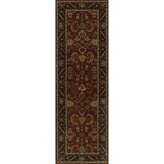"Zeeba Hand-tufted Wool Rug (2'6"" x 8')"