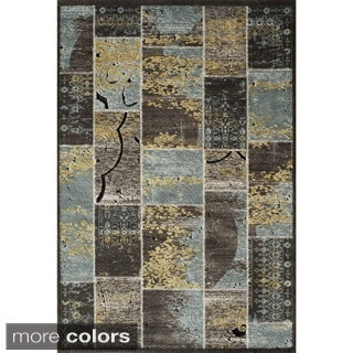 "Monterey Patchwork Power Loomed Rug (6'7"" X 9'3"")"
