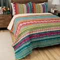 Greenland Home Fashions Southwest Cotton 3-piece Quilt Set
