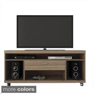 Manhattan Comfort 4-Shelf, 1 Drawer Ansonia TV Stand