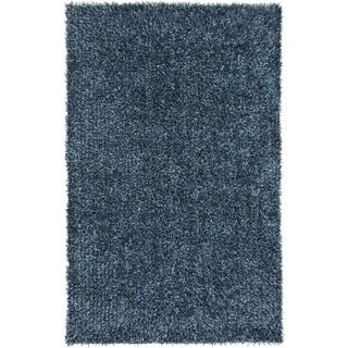 Hand-Woven Lindsey Solid Indoor Polyester Rug (2' x 3')