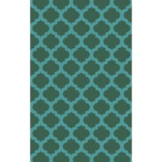 Surya Hand-Tufted Harrow Morrocan Trellis Polyester Rug (9' x 13')