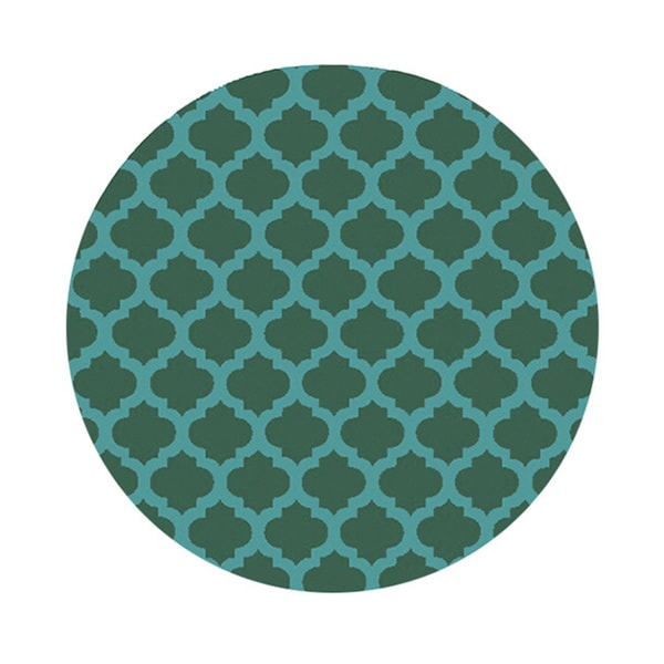 Surya Hand-Tufted Harrow Morrocan Trellis Polyester Rug (8' Round)