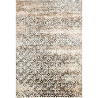 Furniture of America Rehema Hand Tufted Beige Area Rug (7'7 X 10'5)