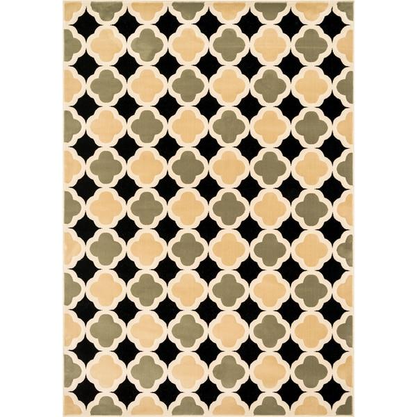 Furniture of America Bardot Graphic Trellis Area Rug (5'2 x 7'7)