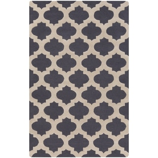 Hand-Tufted Deborah Moroccan Trellis Wool Rug (8' x 11')