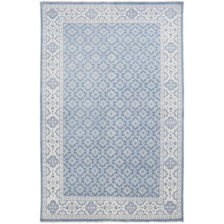 Hand-Knotted Vivienne Moroccan Trellis Wool Rug (9' x 13')