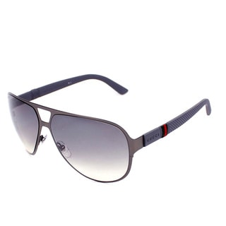 Gucci Men's 2252/S Metal Aviator Sunglasses