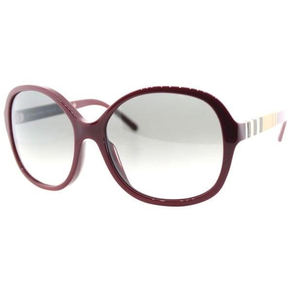 Burberry BE4178 Women's Round Plastic Sunglasses