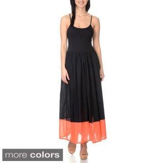 Chelsea & Theodore Women's Spaghetti Strap Maxi Dress