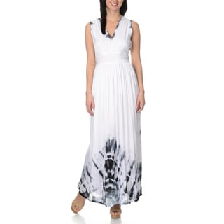 Chelsea & Theodore Women's Empire Waist Maxi Dress