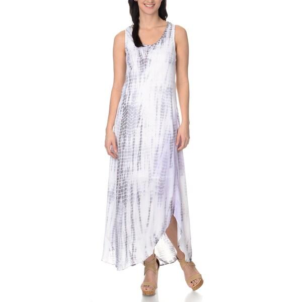Chelsea & Theodore Women's Hi-Low Maxi Dress