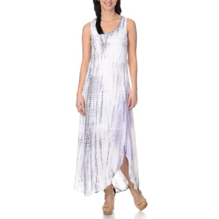 Chelsea & Theodore Women's Hi-Low Maxi Dress