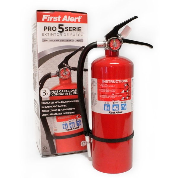 First Alert 5-pound Heavy-duty Plus Home/ Office Fire Extinguisher