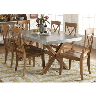 Keaton Maple/ Zinc Dinette Table