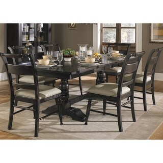 Black Cherry Traditional 7-piece Dinette Set