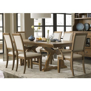 Town and Country Transitional 7-piece Dinette Set