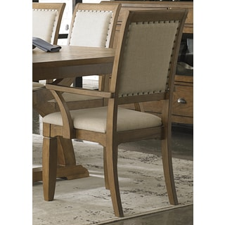 Town and Country Transitional Upholstered Arm Chair