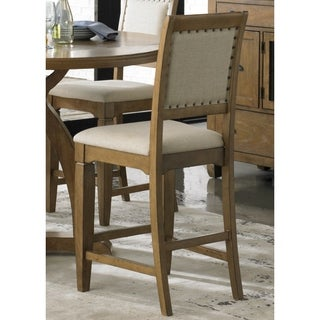 Town and Country Transitional 24-inch Upholstered Barstool